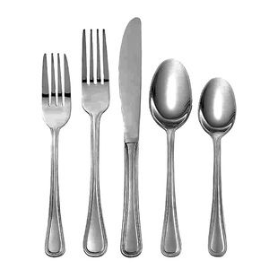 Oneida Tress Stainless Steel Set of 5 Flatware